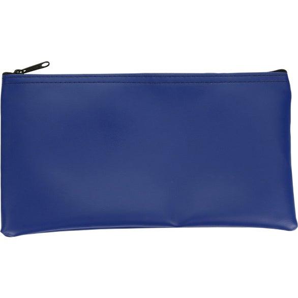 "Expanded Vinyl Horizontal Bank Bag (11"" x 6"")"