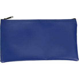 "Expanded Vinyl Horizontal Bank Bag (11"" x 6"")"