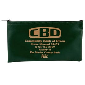 "Horizontal Bank Bag LN (11"" x 6"")"