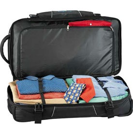 High Sierra Elevate Drop Bottom Wheeled Duffel for Your Church