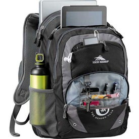 Branded High Sierra Overtime Fly-By Compu-Backpack