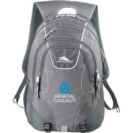 Personalized High Sierra Vortex Fly-By Compu-Backpack