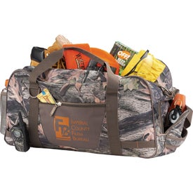 """Hunt Valley Camo 22"""" Duffel Bag Printed with Your Logo"""