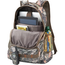 Monogrammed Hunt Valley Camo Compu-Backpack