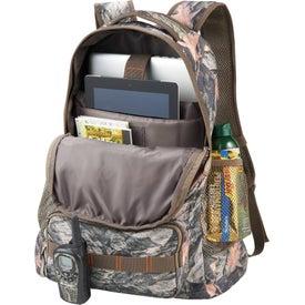 Monogrammed Hunt Valley Camo Compu-Backpack