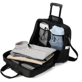 Icon Wheeled Computer Bag for Advertising