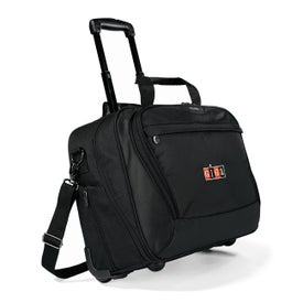 Branded Icon Wheeled Computer Bag