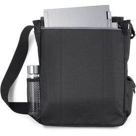 Printed Impact Vertical Computer Messenger Bag