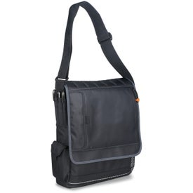 Impact Vertical Computer Messenger Bag for Customization