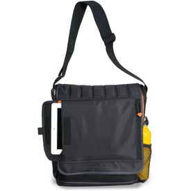 Imprinted Impact Vertical Computer Messenger Bag