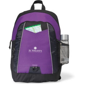 Impulse Backpack Imprinted with Your Logo