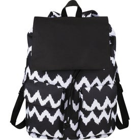 In Print Rucksack with Your Logo