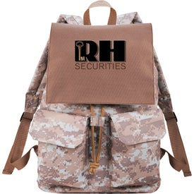 In Print Rucksack for Marketing