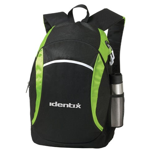Black / Lime Green Infinity Backpack
