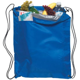 Monogrammed Insulated Drawstring Sports Pack