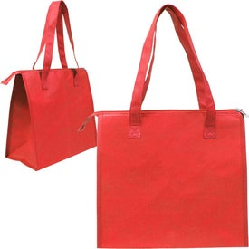Insulated Triangle Nonwoven Shopper for Customization