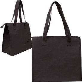 Insulated Triangle Nonwoven Shopper for Promotion