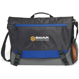 Logo Intensity Computer Messenger Bag