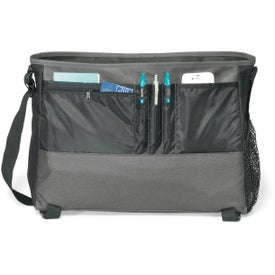 Intensity Computer Messenger Bag Imprinted with Your Logo