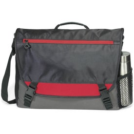 Logo Intensity Computer Messenger Bag
