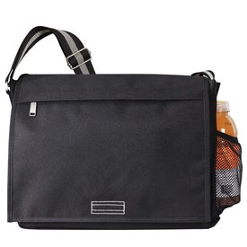 Imprinted Intern Messenger Bag