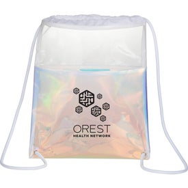 Iridescent Drawstring Bag