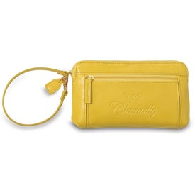 Isaac Mizrahi Ava Wristlet Wallet for Advertising