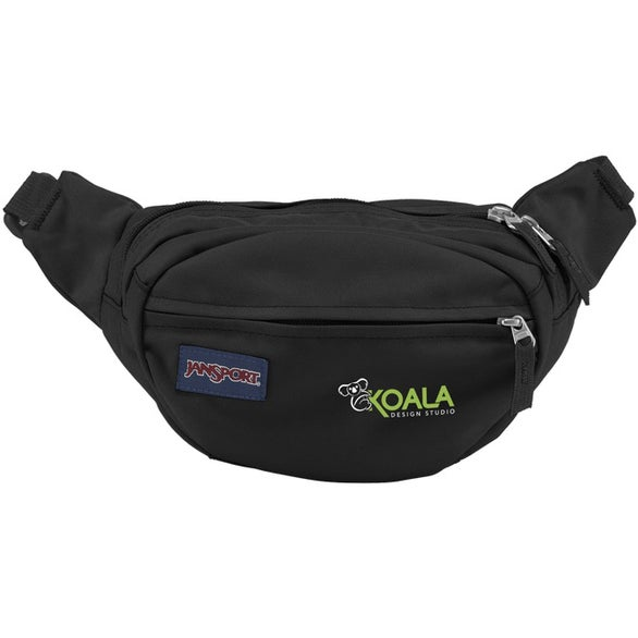 Black JanSport Fifth Avenue Fanny Pack