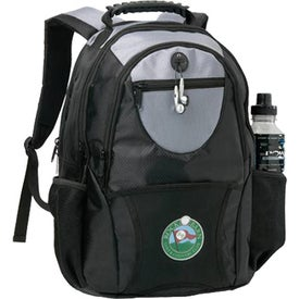 Imprinted Jazz Computer Backpack