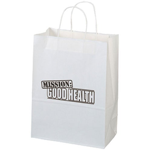 Jenny White Paper Shopper Bag