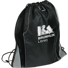 Advertising Jetstream Drawstring Backpack