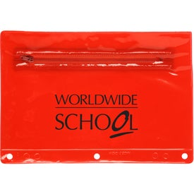 Personalized Jo-Bee Translucent School Pouch