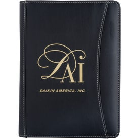 Custom Jr. Executive Crescent Calculator Padfolio