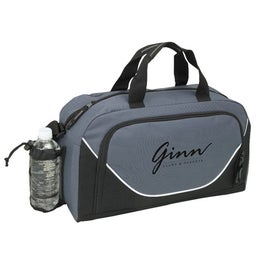 Julian Zippered Duffel for Advertising