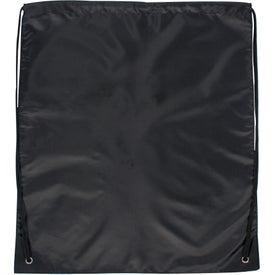 Personalized Jumbo Drawstring Backpack