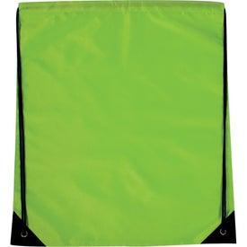 Branded Jumbo Drawstring Backpack