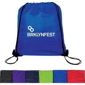 Promotional Jumbo Drawstring Backpack
