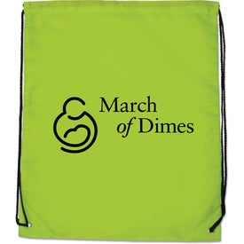 Junior Drawstring Backpack with Your Logo
