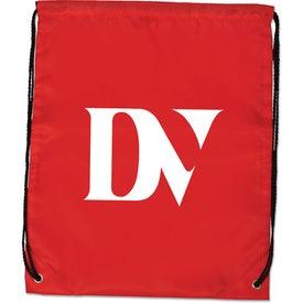 Monogrammed Junior Drawstring Backpack