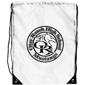 Imprinted Junior Size Barato Drawstring Backpack