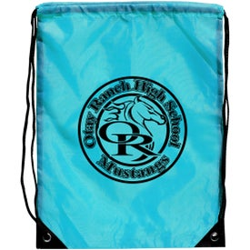 Customized Junior Size Barato Drawstring Backpack