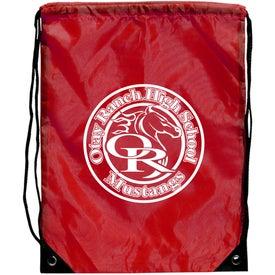 Customized Junior Size Barato Drawstring Backpack