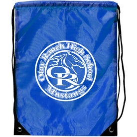 Junior Size Barato Drawstring Backpack with Your Slogan