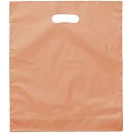 Juno Frosted Brite Die Cut Bag Branded with Your Logo
