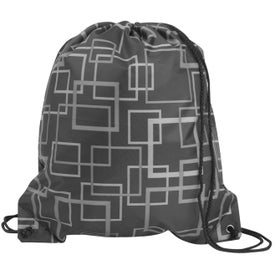 Kaleida Drawcord Tote Imprinted with Your Logo