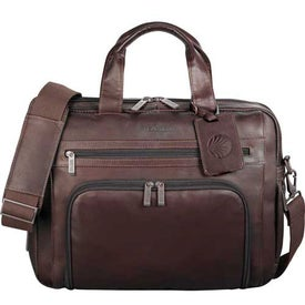 Kenneth Cole Colombian Leather Compu-Case