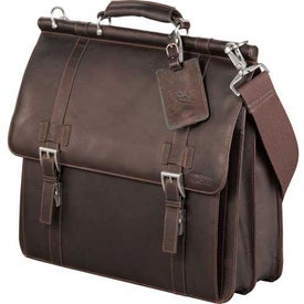 Kenneth Cole Colombian Leather Dowel Compu-Messenger for Your Organization