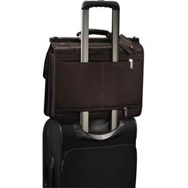 Kenneth Cole Colombian Leather Dowel Compu-Messenger for Marketing