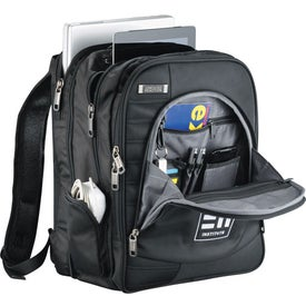 Customized Kenneth Cole Tech Deluxe Compu-Backpack