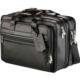 Promotional Kenneth Cole Manhattan Leather Compu-Attache